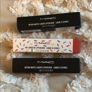 Mac liquid lip bundle! NEW!